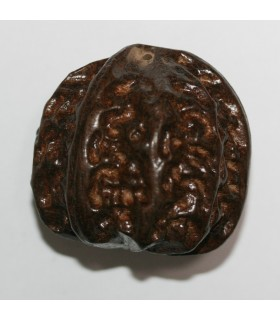 Wood Carved Pendant 42x44mm.Approx.-Item.10493