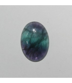Fluorite Oval Cabochon 25x18 mm. (4 piezas).- Item: 1027CB