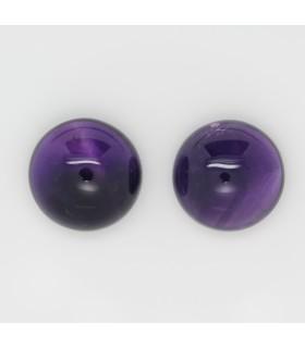 Amethyst Round Cabochon 16mm. (2 pcs.).- Ref: 1170CB