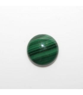 Malaquite Round Cabochon 14 mm. (4 pcs.).- Ref. 1138CB