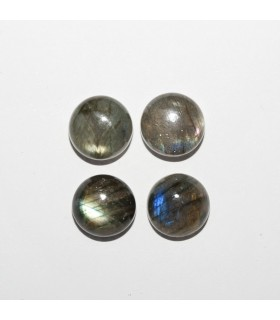 Labradorite Round Cabochon 11mm (4 pcs).- Ref: 1072CB