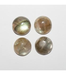 Labradorite Round Cabochon 12mm (4 pcs).- Ref: 1073CB