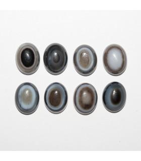 Cabujon Agata Orbicular Oval 10x8mm ( 8 piezas).- Ref: 1088CB