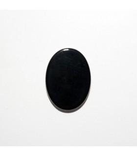 Cabujon Onix Oval Plano 18x13mm (6 piezas).- Ref: 1177CB