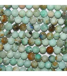 Peruvian Opal Round Beads 6mm.-Strand 40cm.-Item.10665