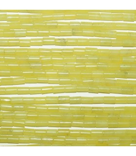 Serpentine Smooth Tube 5x3mm. Strand 40 cm.- Ref: 10694