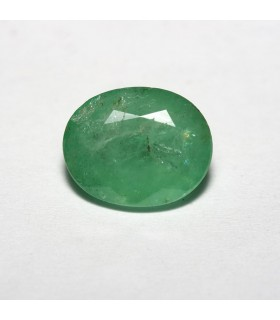 Esmerald Faceted Oval 10x8mm (2.6 ct).-Ref: 5201