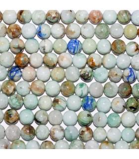 Peruvian Opal Round Beads 8 mm. Strand 40 cm.- Item: 10729