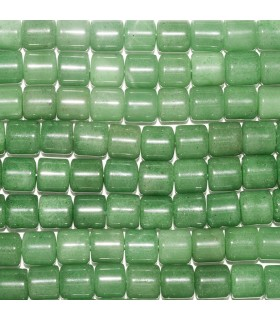 Aventurine Smooth Cylinder 10mm. Strand 40 cm.- Item: 10783