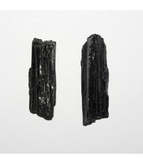 Colgante Turmalina Negra en Bruto 35-65mm. 1 pieza.- Ref: 10929