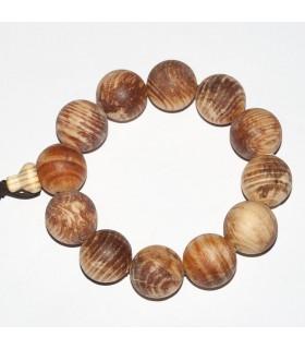 Pine Round Beads Bracelet 20mm.- Item: 10917