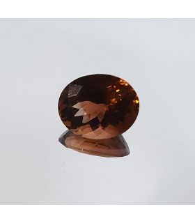 Caramel Color - Orange-Red Color tourmaline Oval 9x11mm 3.55ct Item.304PE