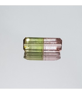 Bicolor Watermelon Tourmaline 13.4x4.9mm 2.15ct Item.305PE