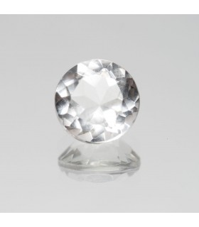 Rock Crystal Faceted Round 8mm (1.89 ct).- Ref: 336PE