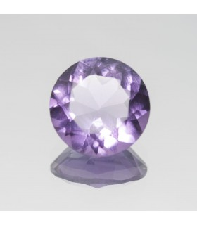Amethyst Faceted Round 10mm (3.04 ct).- Item: 340PE