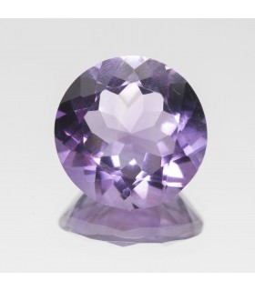Amethyst Faceted Round 13mm (6.60 ct).- Item: 341PE