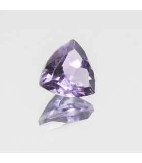Amethyst Faceted Trillon 8mm (1.60 ct. approx.).- Ref: 343PE