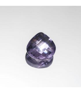 Amethyst Briolette Drop 8x8mm (1.40 ct. approx.).- Item: 345PE