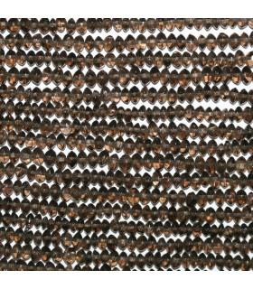 Smoky Quartz Smooth Rondelle Beads 4x2mm.-Strand 33cm.-Item.11014