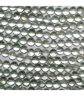 Amatista Verde Bola Lisa 6mm -Hilo 34cm- Ref.11018